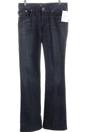 Rock & Republic Boot Cut Jeans dunkelblau Casual-Look