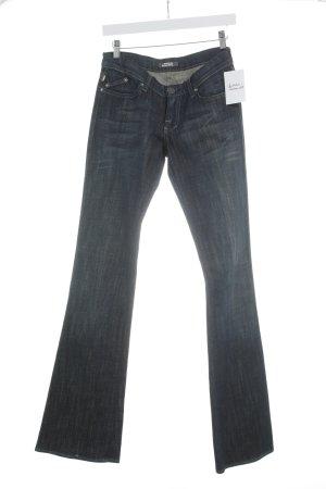 Rock & Republic Jeans bootcut bleu foncé-gris ardoise style extravagant