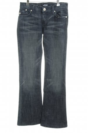 Rock & Republic Boot Cut Jeans stahlblau Casual-Look