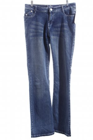 Rock & Republic Jeans a zampa d'elefante blu scuro stile casual