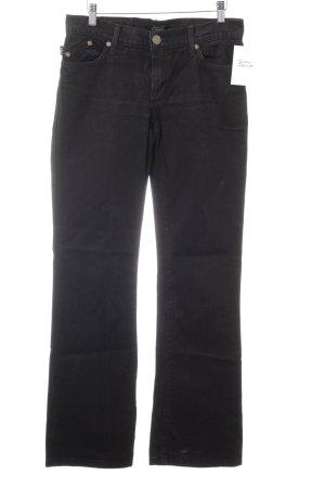Rock & Republic Jeansschlaghose schwarz Casual-Look