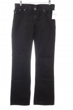 Rock & Republic Jeans a zampa d'elefante nero stile casual