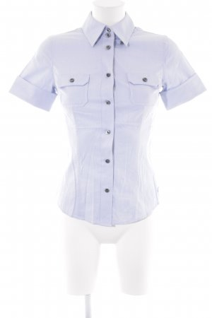 Rock & Republic Kurzarm-Bluse himmelblau Business-Look
