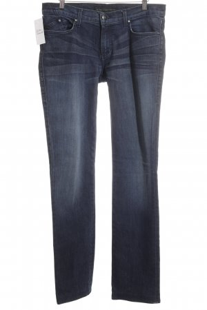 Rock & Republic Straight-Leg Jeans dunkelblau Jeans-Optik