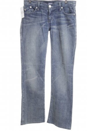 Rock & Republic Straight-Leg Jeans stahlblau Jeans-Optik