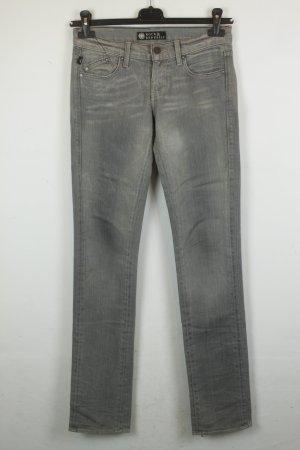 Rock & Republic Straight Leg Low Waist Jeans Gr. 26 grey denim