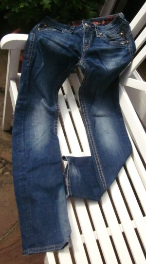 Rock Revival Blue Jeans