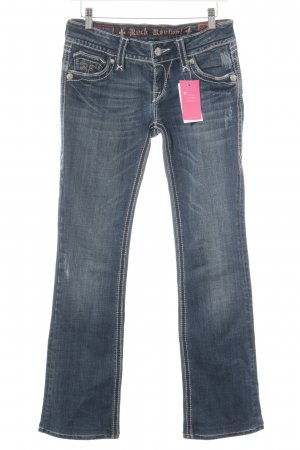 "Rock Revival Jeans bootcut ""Debbie"" bleu"