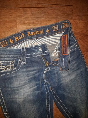 Rock Revival Jeans blu scuro