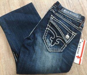 Rock Revival Jeans stretch bleu foncé