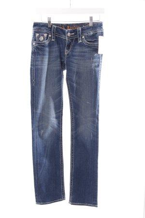 Rock Revival Slim Jeans blau