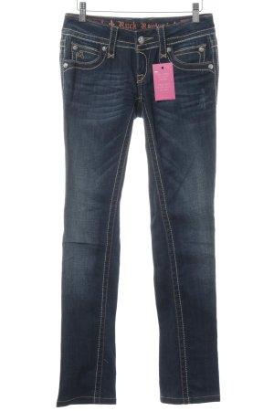 Rock Revival Slim Jeans dunkelblau Casual-Look