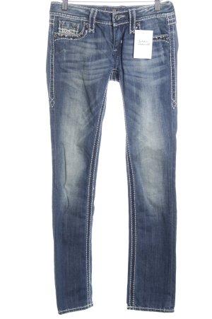 "Rock Revival Straight-Leg Jeans ""Angie"" stahlblau"