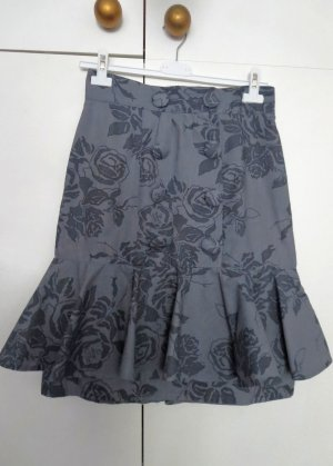 Flounce Skirt multicolored cotton