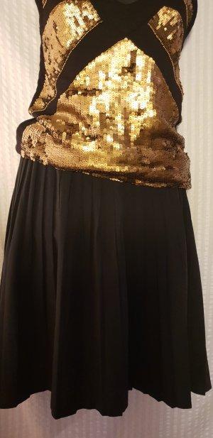 Pleated Skirt black viscose
