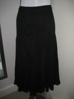 Crash Skirt black cotton