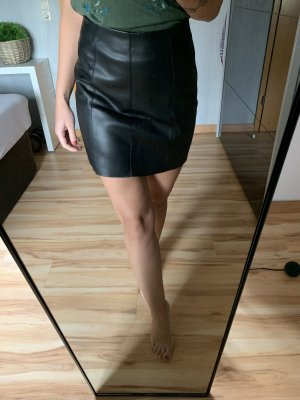 Pimkie Leather Skirt black