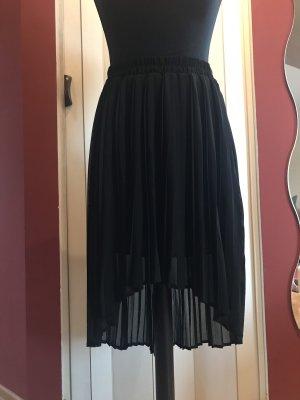 Mango casual Geplooide rok zwart