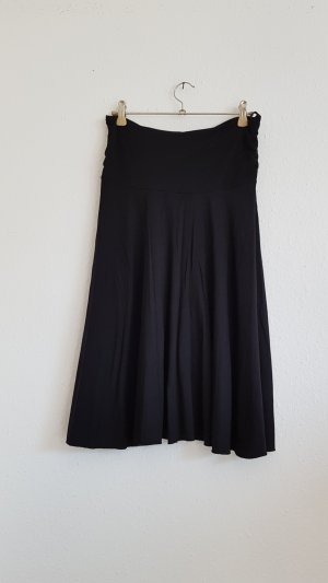 One Touch Falda midi negro