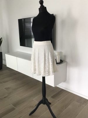 Lace Skirt white-cream