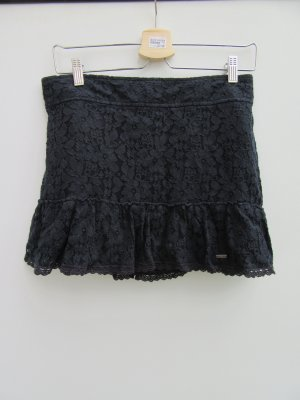Hollister Lace Skirt dark blue