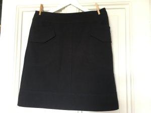 Rock, sportlich elegant, Seitentaschen, Dunkel Blau, Marine 40
