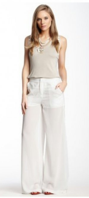 Rock Stella & Jamie Nero Side Slit Pant gr S
