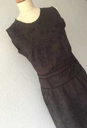 estomo Midi Skirt black brown-black