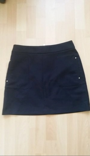 H&M Tulip Skirt black-white