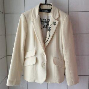 Wool Blazer natural white