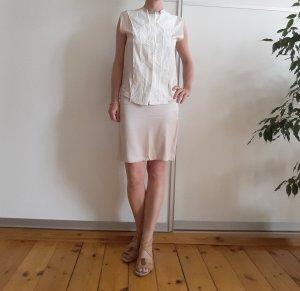 Rock und Bluse Kombination von Bottega Veneta,Creme, weiß, Größe 38