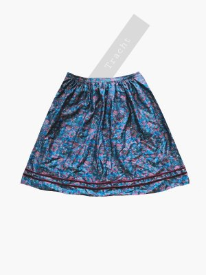 Vintage Traditional Skirt multicolored