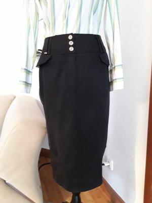 Airfield Midi Skirt black