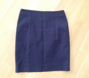 Akris punto Pencil Skirt dark blue
