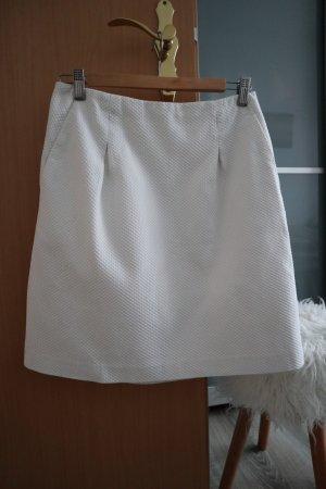 Boden Falda de talle alto blanco puro Algodón