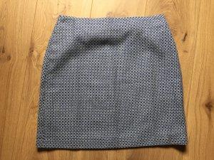Boden Gonna di lana bianco-blu
