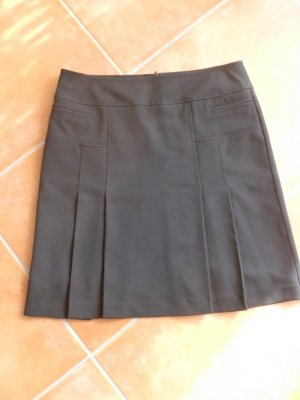 Esprit Plaid Skirt black polyester