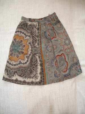 Etro Tulip Skirt multicolored viscose