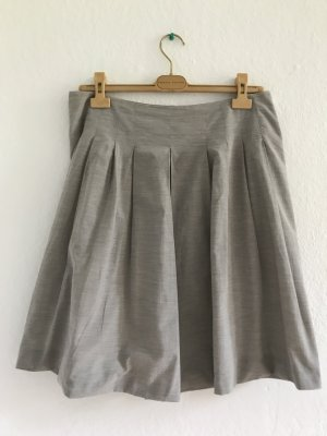Fabiana Filippi Plaid Skirt rose-gold-coloured cotton