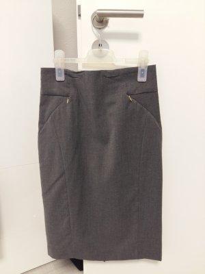 H&M Falda de tubo color oro-gris