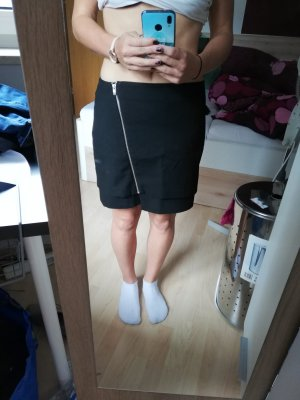 H&M Broomstick Skirt black