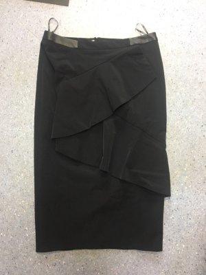 Hauber Falda de tubo negro