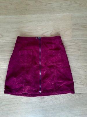 Hollister High Waist Skirt bordeaux