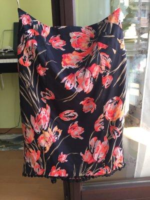 KAREN MILLEN Falda de tubo multicolor