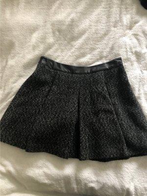 Karl Lagerfeld Jupe à plis noir-gris
