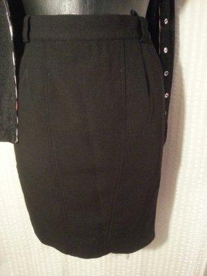 Madeleine Pencil Skirt black wool