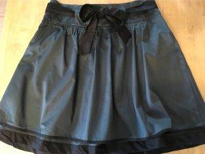 Naf naf Flared Skirt black-petrol