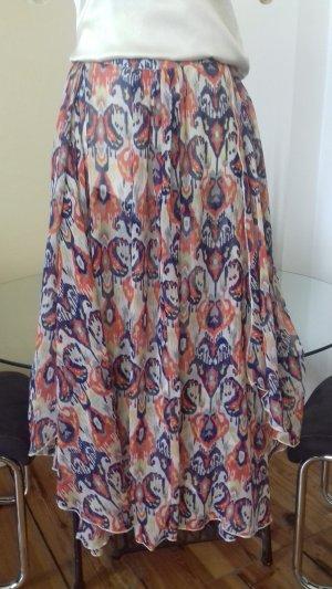 Pepe Jeans Silk Skirt multicolored silk