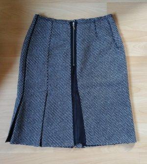 Prada Wool Skirt black-white wool