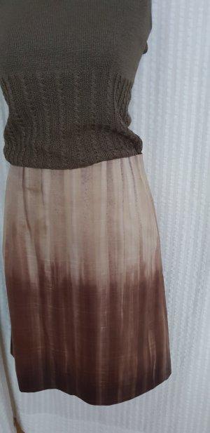 René Lezard Midi Skirt multicolored cotton
